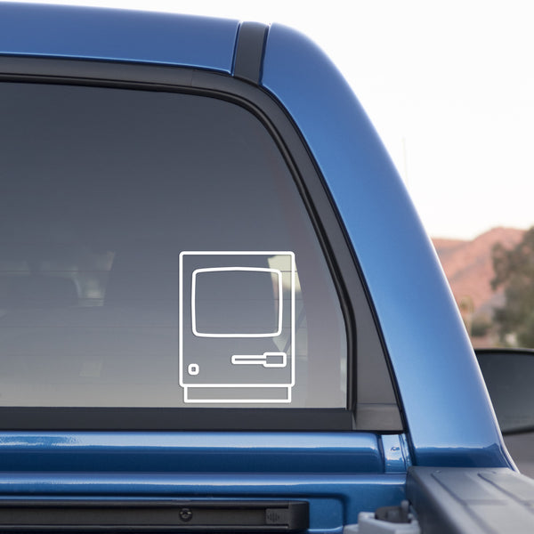 Apple Macintosh Sticker for Cars and Trucks