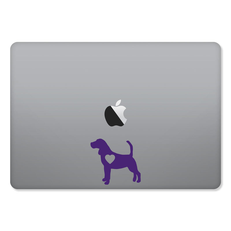 Beagle Love Sticker for MacBooks and Apple Devices - Whipps Sticker Co.