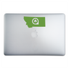 Billings Montana Home Sticker On A 15-Inch Macbook Pro