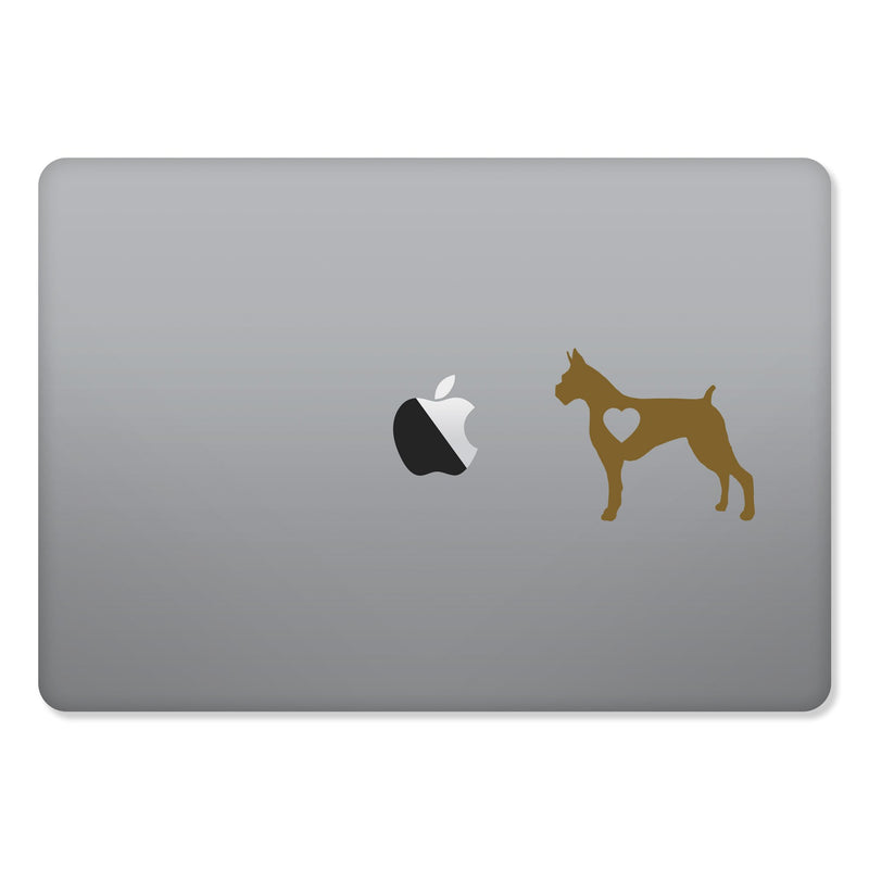Boxer Love Sticker for MacBooks and Apple Devices - Whipps Sticker Co.