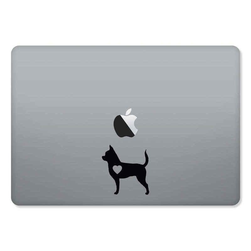 Chihuahua Love Sticker for MacBooks and Apple Devices - Whipps Sticker Co.