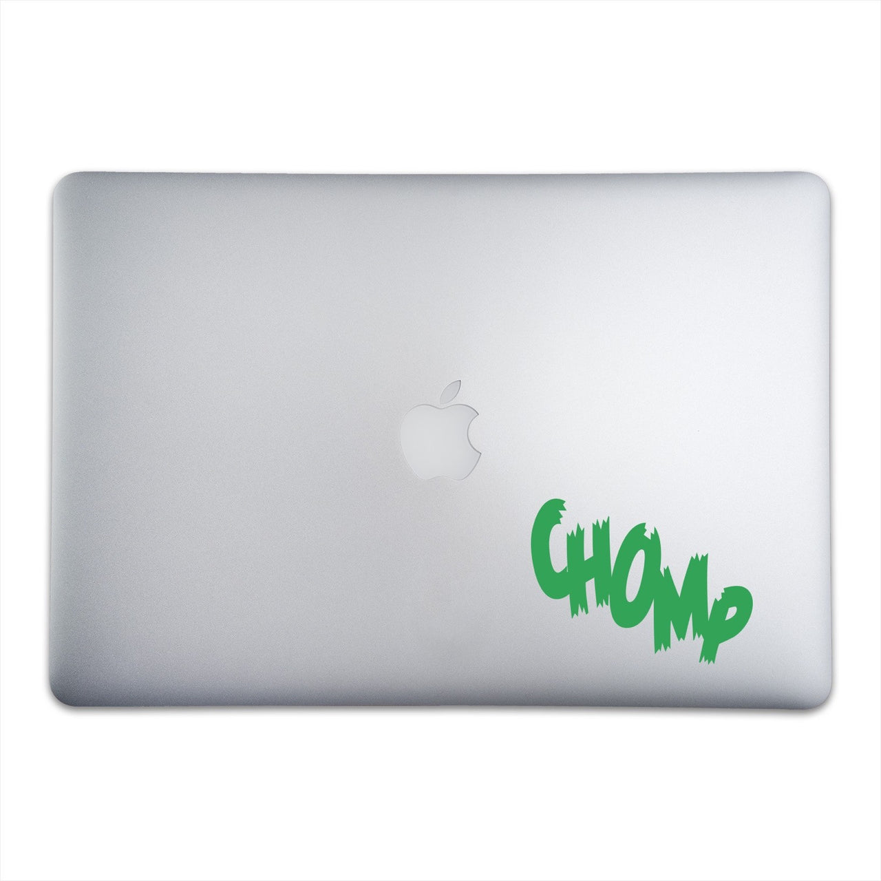 CHOMP Sticker for MacBooks and Apple Devices On A 15-Inch Macbook Pro