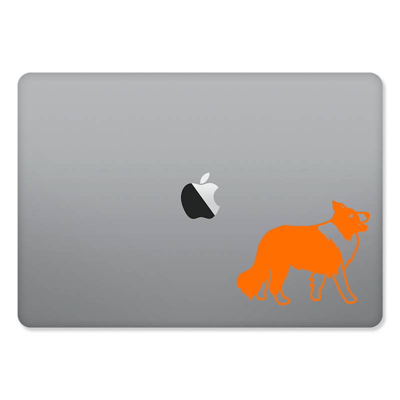 Collie Sticker for MacBooks and Apple Devices - Whipps Sticker Co.