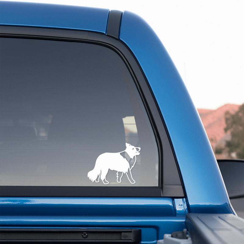 Collie Sticker for Cars and Trucks - Whipps Sticker Co.