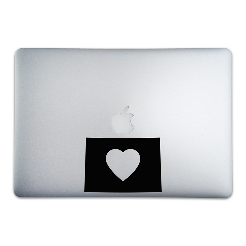 Colorado Love Sticker for MacBooks and Apple Devices - Whipps Sticker Co.