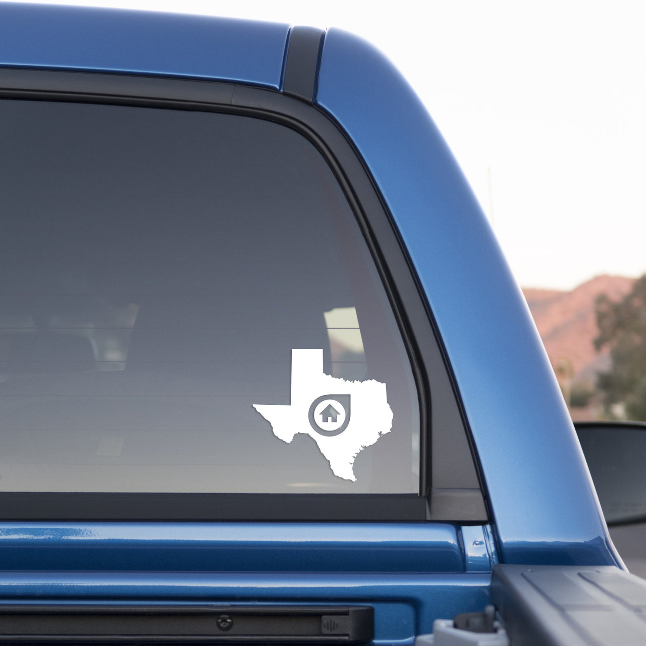 Dallas Texas Home Sticker for Cars and Trucks