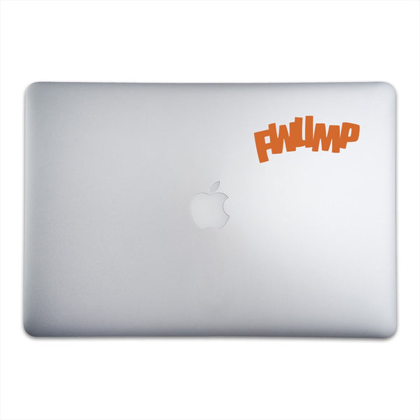 FWUMP Sticker for MacBooks and Apple Devices On A 15-Inch Macbook Pro