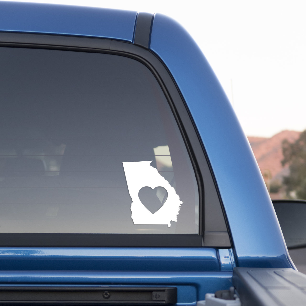 Georgia Love Sticker for Cars and Trucks