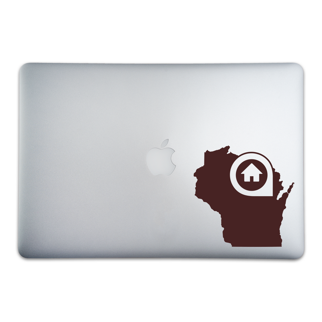 Green Bay Wisconsin Home Sticker On A 15-Inch Macbook Pro