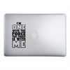 i'm one with the force sticker on a 15-inch macbook pro