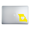 Missouri Love Sticker On A 15-Inch Macbook Pro