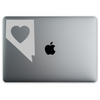 Nevada Love Sticker On A 12-Inch Macbook
