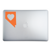 Nevada Love Sticker On A 15-Inch Macbook Pro