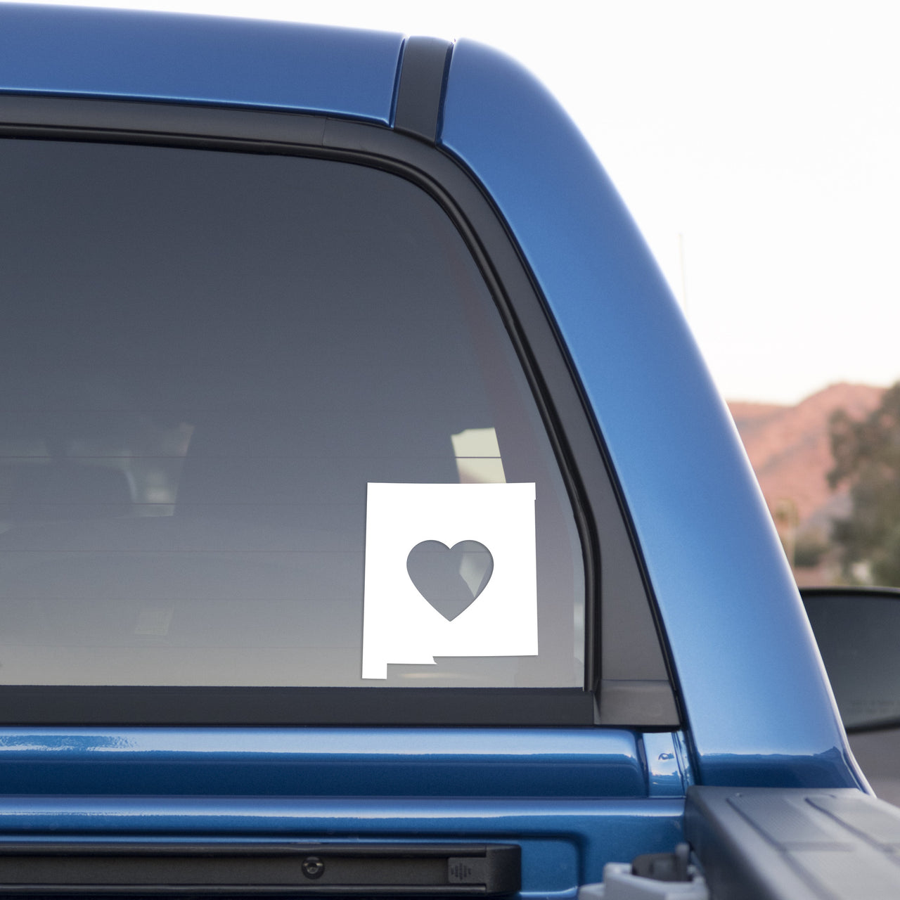 New Mexico Love Sticker for Cars and Trucks