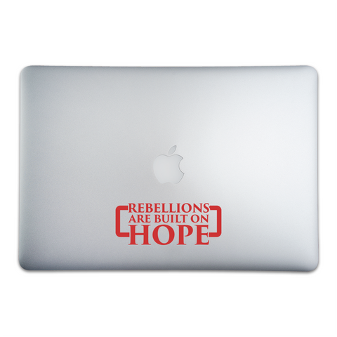 Rebellions are Built On Hope Rogue One Inspired Sticker - Whipps Sticker Co.