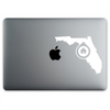 Tallahassee, Florida Home sticker on a 12-inch MacBook