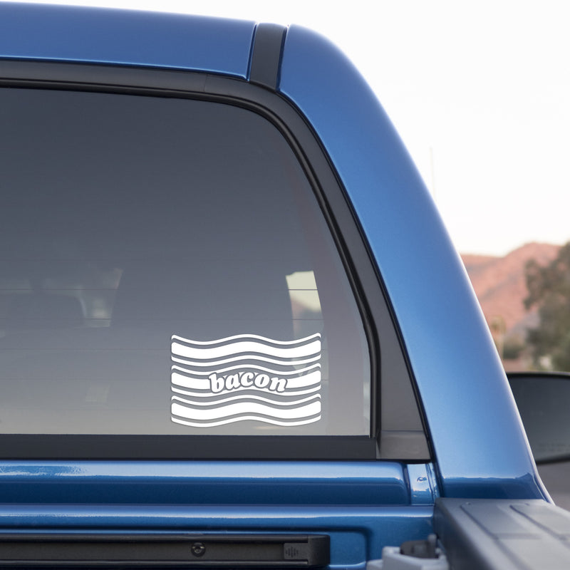 Bacon Sticker for Cars and Trucks - Whipps Sticker Co.
