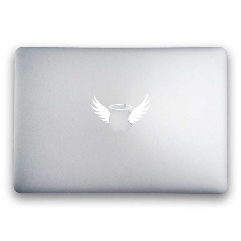 MacBook Halo and Wings - Whipps Sticker Co.