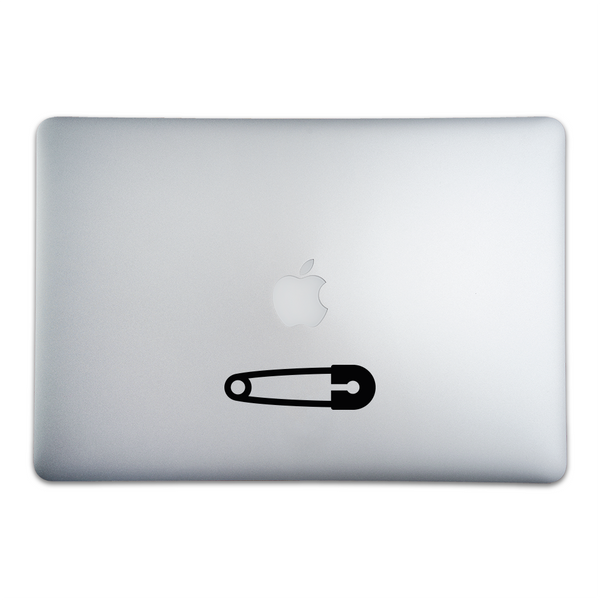 Safety Pin Sticker for MacBooks and Apple Devices