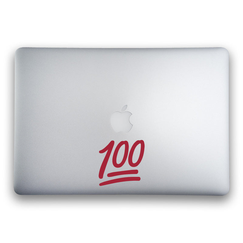 100 Emoji Sticker for MacBooks and Apple Devices - Whipps Sticker Co.