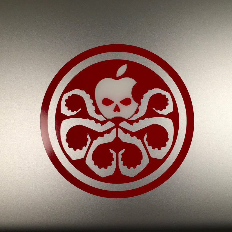 Hydra logo for MacBook Pro and MacBook Air - Whipps Sticker Co.