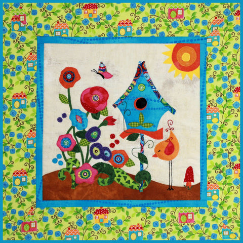 Home Tweet Home Applique