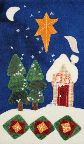 Let It Snow – Wool Applique