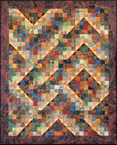 Mending Fences Lap Quilt