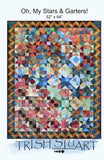 Oh, My Stars and Garters Lap Quilt
