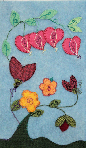 Spring Blossoms – Wool Applique