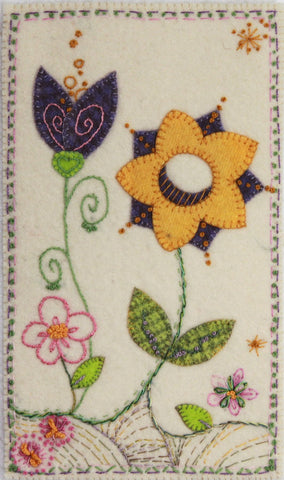 Spring – Wool Applique