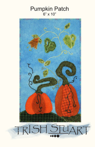 Pumpkins – Wool Applique