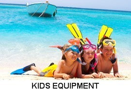 youth mask fins snorkel sets
