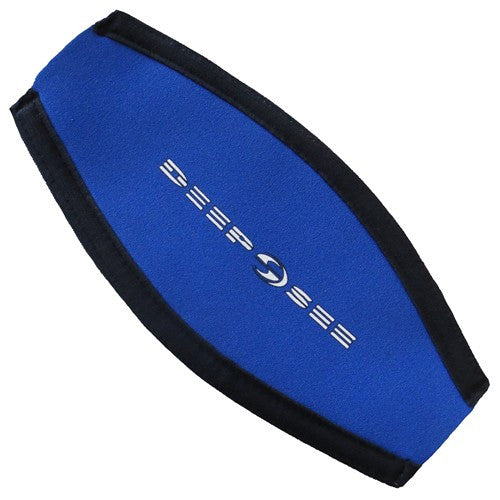 mask blue strap cover