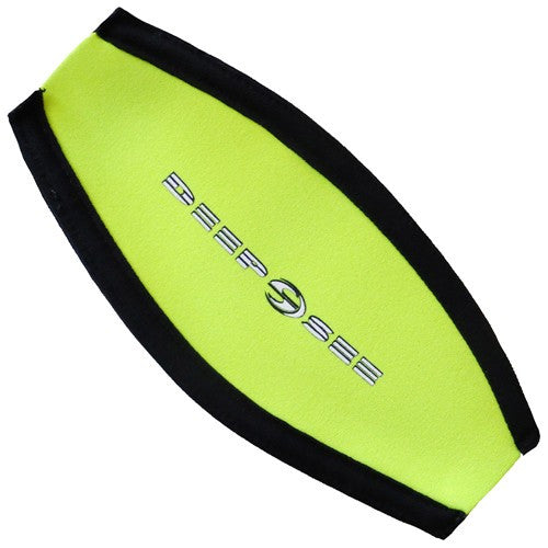 yellow mask strap cover
