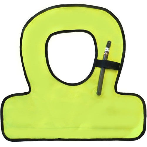 yellow youth snorkel vest