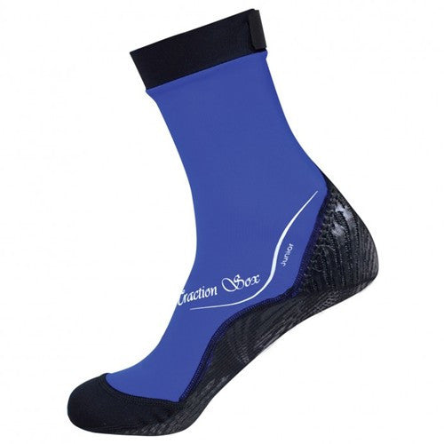 blue lycra socks for youth