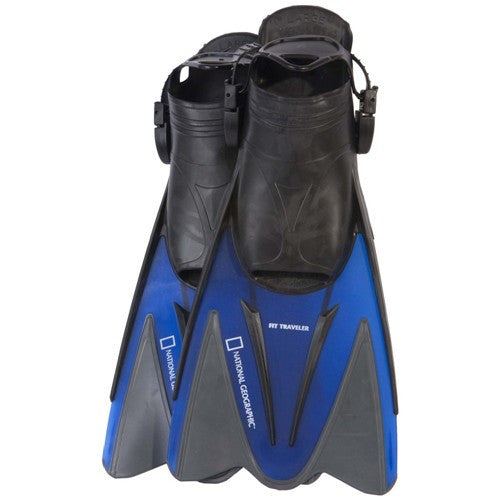 travel fins for wide feet