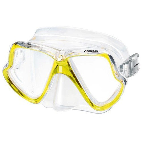 yellow two lens mask