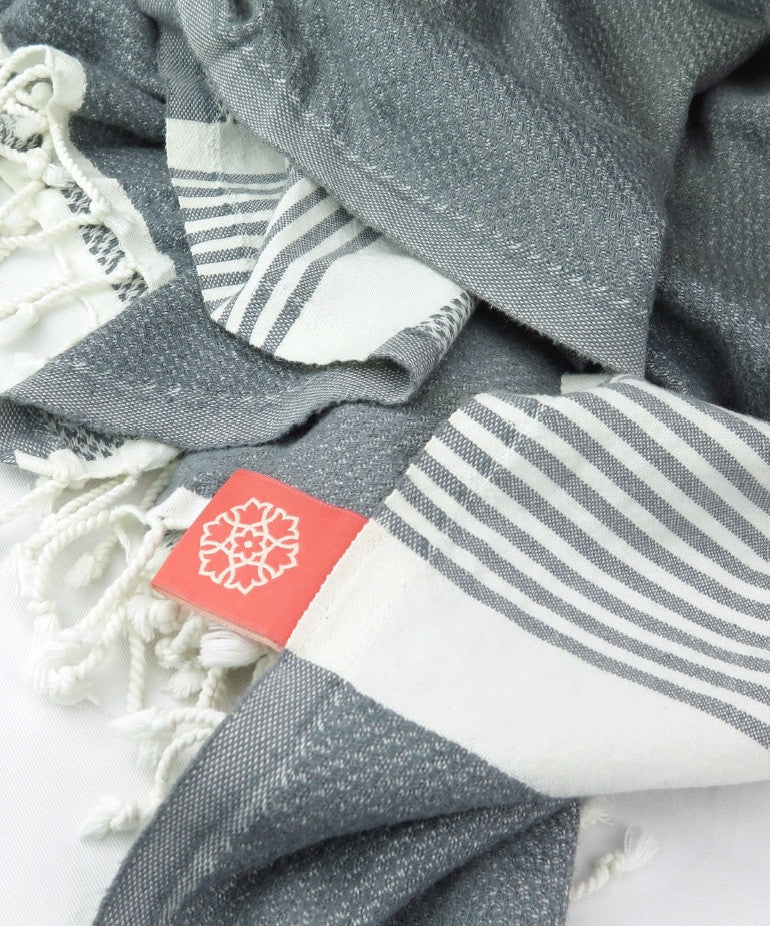 Turkish Towel X-Large Bamboo Ash