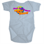 Where's My Future? - Organic Baby Romper Onesie