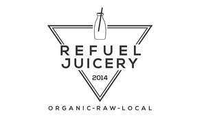 Refuel Juicery's logo