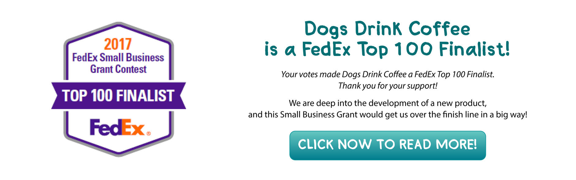 Vote for Dogs Drink Coffee