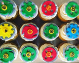 Beyblade Theme Cupcakes. Available In 6 Or 12 Packs. Pack Vanilla Toys&parties.co.nz