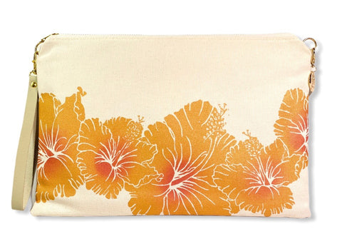 Hibiscus - Large Handbag