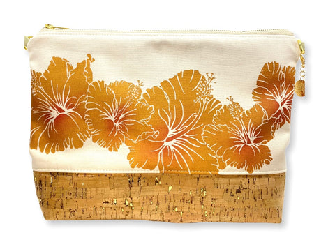 Hibiscus - Large Purse