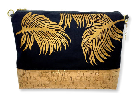 Palm Leaves - Large Purse