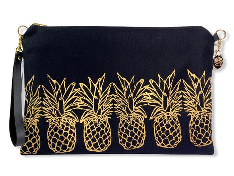 New Pineapples - Large Handbag
