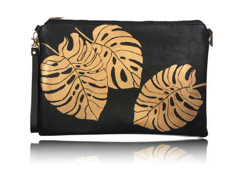Monstera - Large Handbag