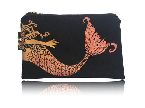 Swimming Mermaid - Small Handbag